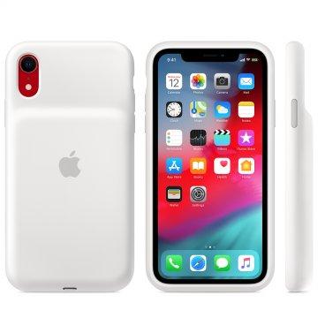 Pouzdro Apple Smart Battery pro iPhone XR – bílý
