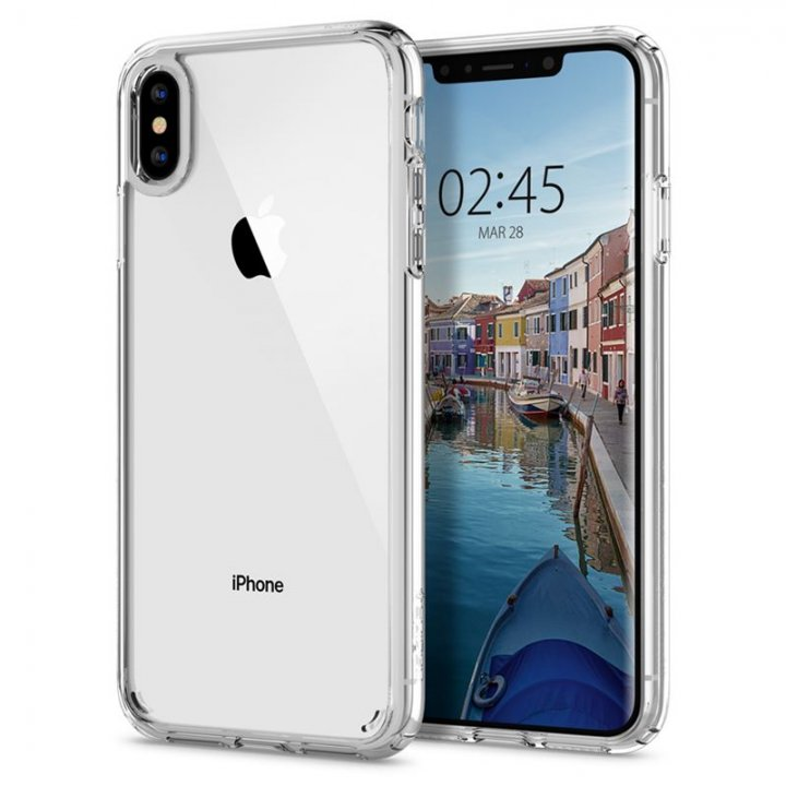 Spigen Ultra Hybrid, crystal clear - iPhone XS Max