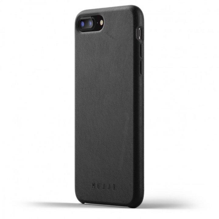 MUJJO Full Leather Case pro iPhone 8 Plus / 7 Plus - černý