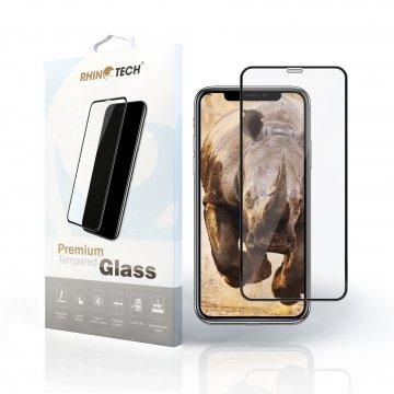 RhinoTech 2 Tvrzené ochranné 3D sklo pro Apple iPhone X/XS/11Pro - černé