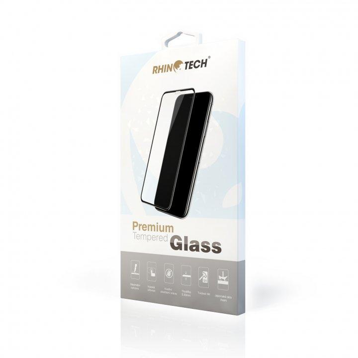 RhinoTech 2 Tvrzené ochranné 3D sklo pro Apple iPhone XS Max/11 Pro Max - černé