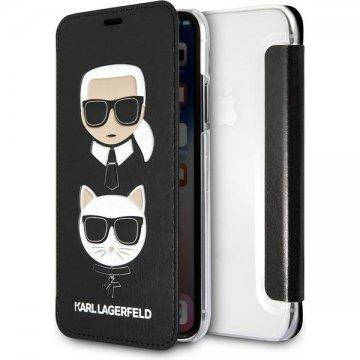 Karl Lagerfeld Pins Hard pouzdro iPhone 7/8/SE2020 černé