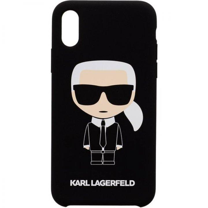 Karl Lagerfeld Full Body Iconic pouzdro iPhone X/XS černé