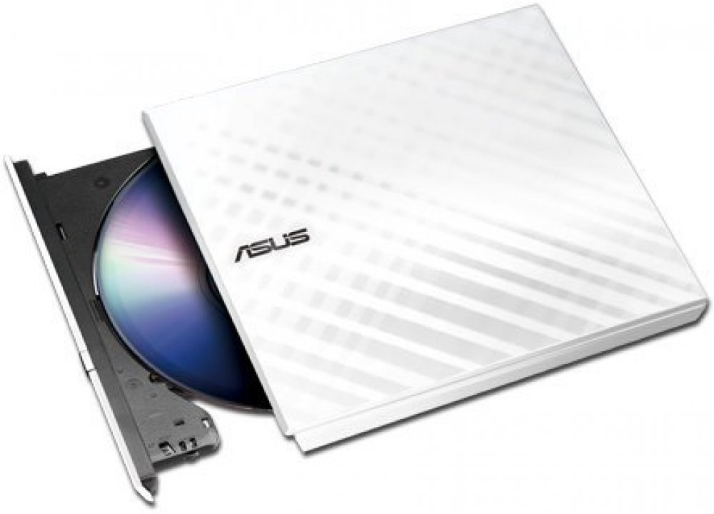 ASUS SDRW-08D2S-U Lite, externí DVD mechanika bílá