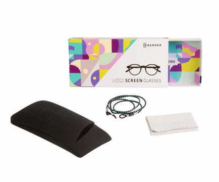 Barner Brand® Barner 2.0 - Dalston - Black Noir - brýle potlačující modré světlo z obrazovek