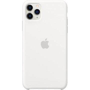 Apple silikonový kryt iPhone 11 Pro Max bílý
