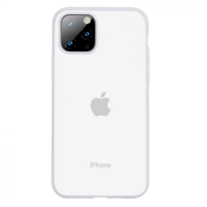 BASEUS Baseus Jelly Liquid Silica Gel Protective Case for Apple iPhone 11 Pro (White)