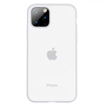 BASEUS Baseus Jelly Liquid Silica Gel Protective Case for Apple iPhone 11 Pro Max (White)