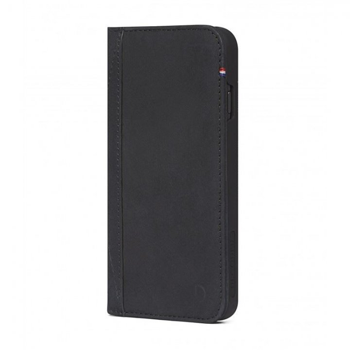 Decoded Leather Wallet Case, black - iPhone 8/7/6/SE2020