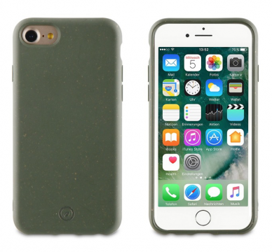 Muvit For Change Bambootek ECO Kryt pro Apple iPhone 8/7/6/SE2020 Moss
