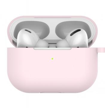 LAB.C Silikonový obal na AirPods Pro - růžový