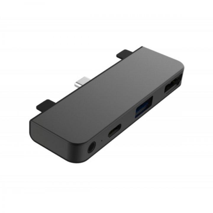 HyperDrive 4 v 1 USB-C Hub pro iPad Pro 2018 – Space Gray