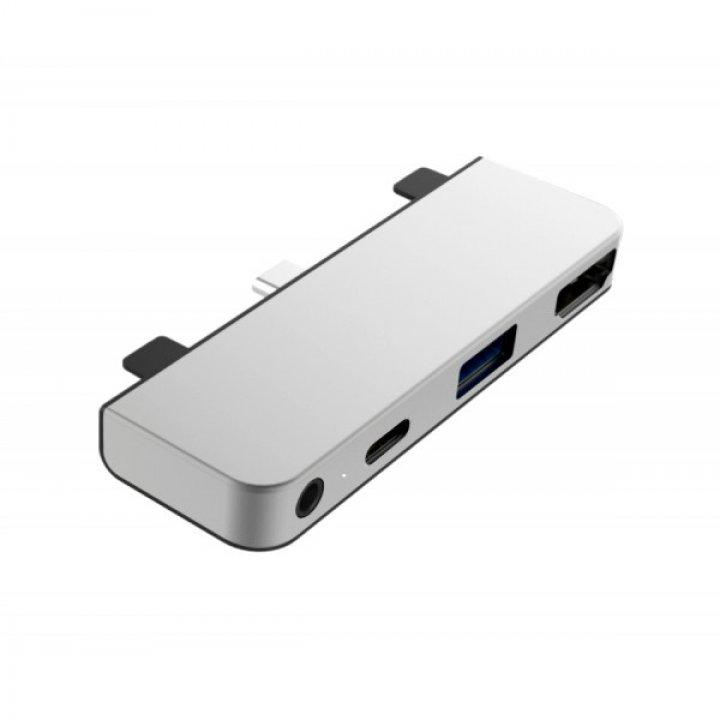 HyperDrive 4 v 1 USB-C Hub pro iPad Pro – Silver