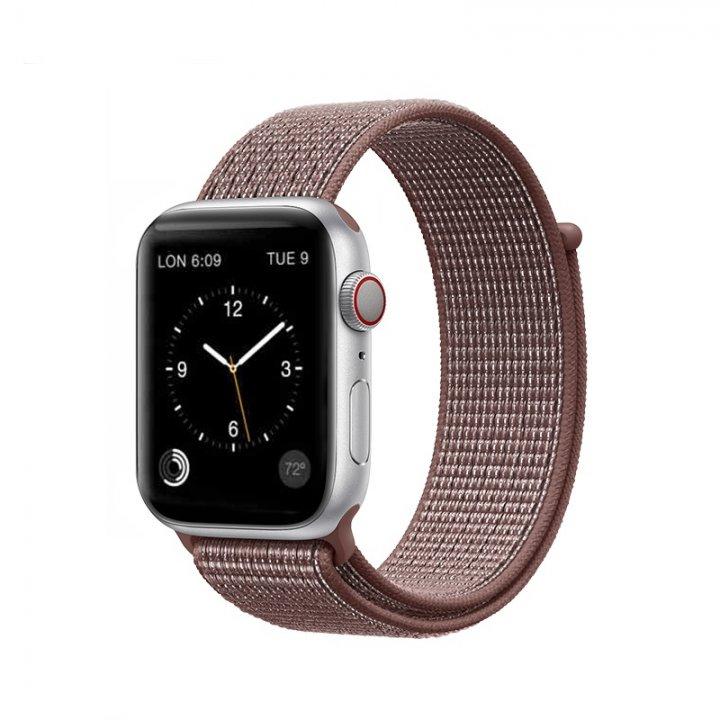 Coteetci Apple Watch provlékací sportovní řemínek 42/44mm Purple Smoke
