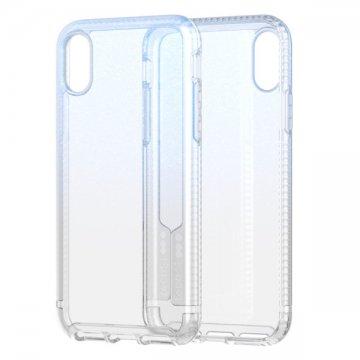 Tech21 Pure Shimmer pro iPhone XR - modrý