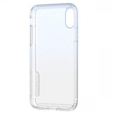 Tech21 Pure Shimmer pro iPhone XS - modrý