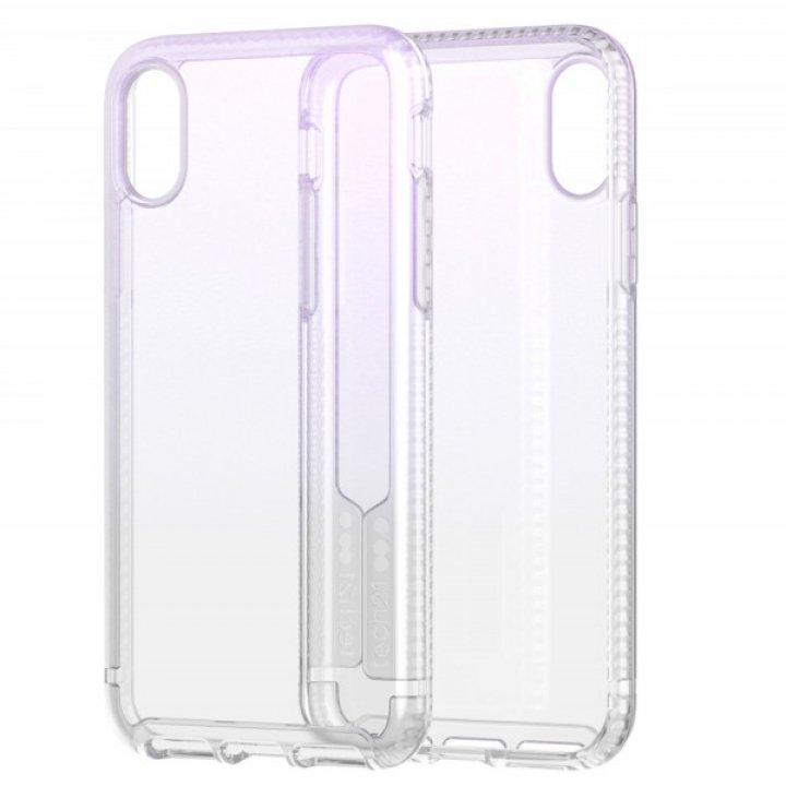 Tech21 Pure Shimmer pro iPhone XS - růžový