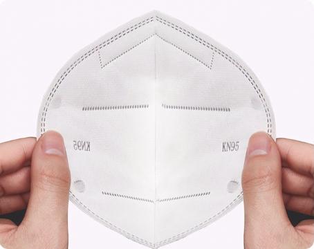 Respirační rouška FFP2 KN95 - balení 2 ks