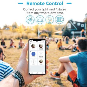 Meross Smart Wi-Fi Outdoor Plug 2 AC