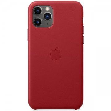 Pouzdro Apple kožené pro iPhone 11 Pro Max červené (PRODUCT) RED