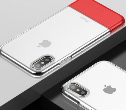BASEUS soft and Hard Case - Red - iPhone XS Max