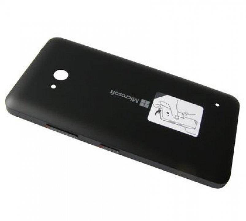 Lumia 640 kryt baterie matný černý