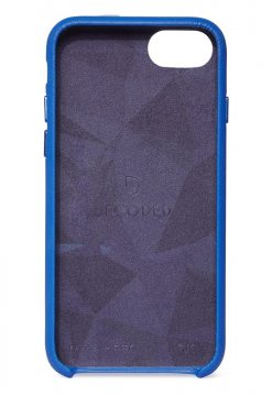 Decoded Leather Back Cover, blue - iPhone SE2020/8/7