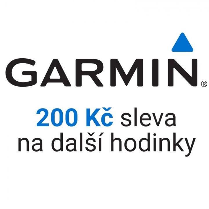 Sleva 200 Kč na další hodinky Garmin