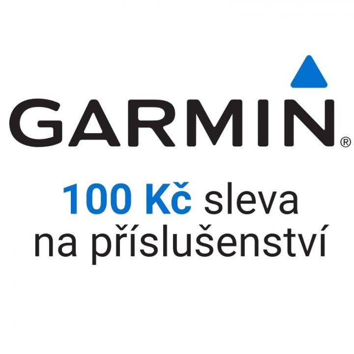 Sleva 100 Kč na příslušenství Garmin