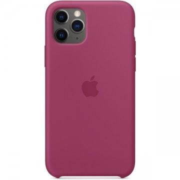 Apple silikonový kryt iPhone 11 Pro tmavě fuchsiový