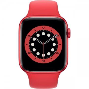 Apple Watch Series 6 44mm (PRODUCT) RED se sportovním řemínkem