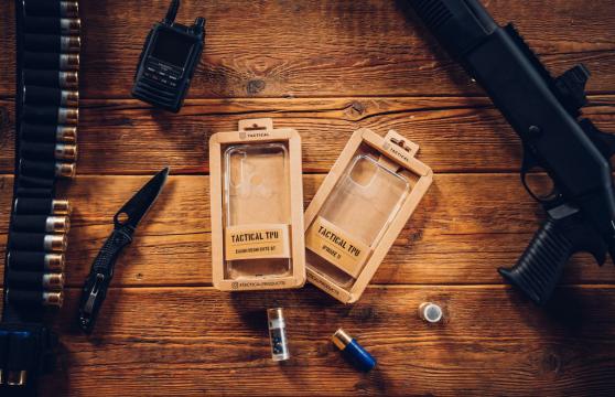 Tactical TPU Kryt pro Apple iPhone 11 Pro Transparent