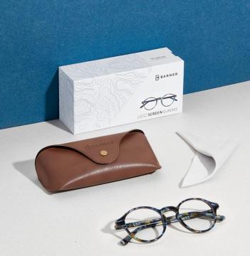 Barner Brand® Mazzu - Schoreditch - Blue Havana - brýle potlačující modré světlo z obrazovek