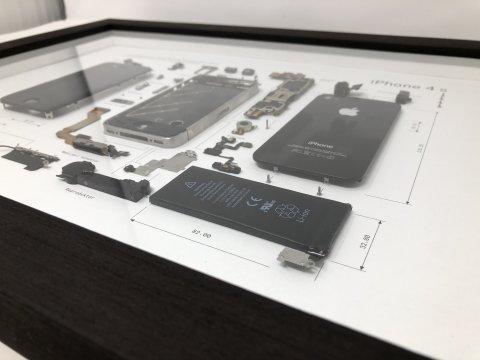 Nástěnný obraz iPhone 4S