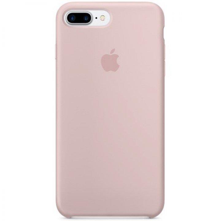 Apple silikonový kryt iPhone 8 Plus / 7 Plus pískově růžový