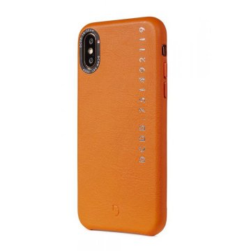 Decoded Leather Back Cover, orange - iPhone X/XS