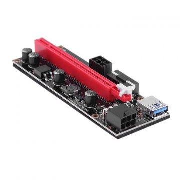 Nový Riser, černá verze PCIe x1 na PCIe x16 (VER 009S)