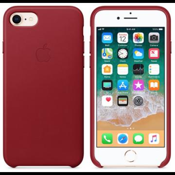 Pouzdro Apple kožené iPhone 7/8/SE2020 (PRODUCT)RED červené