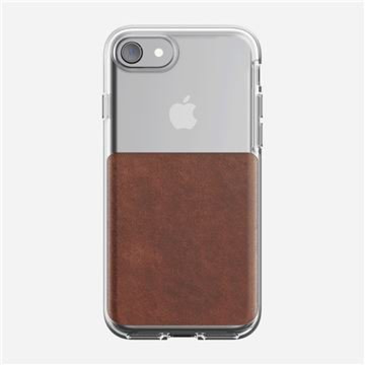 Nomad Clear case, rustic brown - iPhone 7/8/SE2020