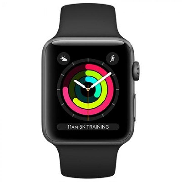 Apple MTF02CN/A Watch Series 3 Vesmírně šedý 38mm