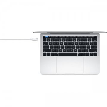 Apple Thunderbolt USB-C kabel (0,8m) bílý